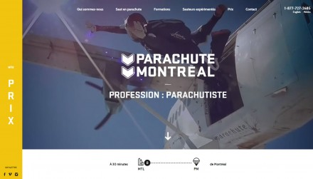 Parachute Montreal Skydive by Nitriques