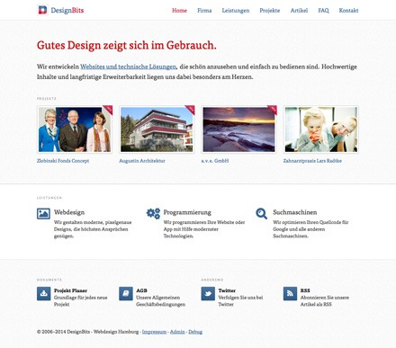 DesignBits Webdesign Hamburg by Tintin81