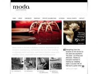 Moda Events by buzzomatic