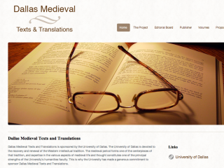 Dallas Medieval Texts and Translations by wjnielsen