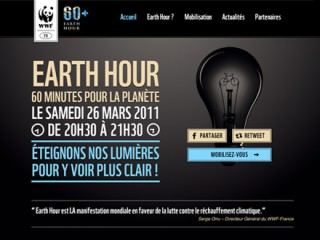 Earth Hour 2011 by Benoit