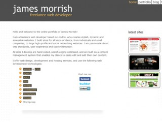 James Morrish - London Web Developer by jamesmorrish