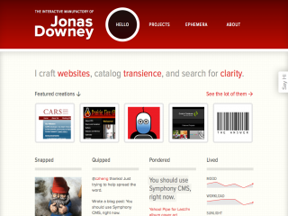 The Interactive Manufactory of Jonas Downey by jonasd