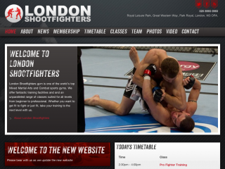 London Shootfighters by Fazal