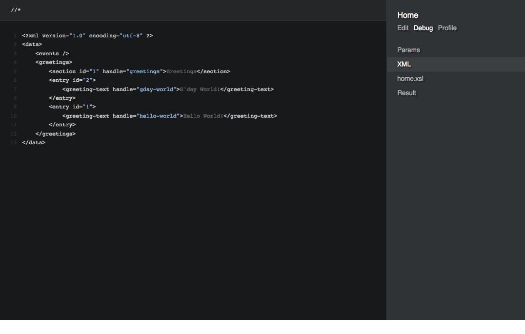 XML-данные